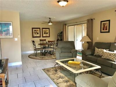 North Fort Myers Condo/Townhouse For Sale: 5751 Foxlake Dr #D