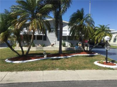 North Fort Myers Mobile/Manufactured For Sale: 268 Lakeside Dr