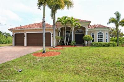 Cape Coral Single Family Home For Sale: 4415 Old Burnt Store Rd N