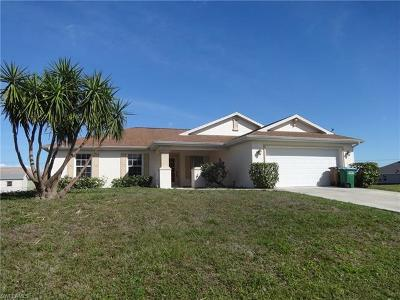 Cape Coral Single Family Home For Sale: 1161 NW 6th Ave