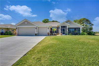 Cape Coral Single Family Home For Sale: 1510 NW 26th Pl