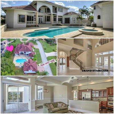 Fort Myers FL Single Family Home For Sale: $1,600,000