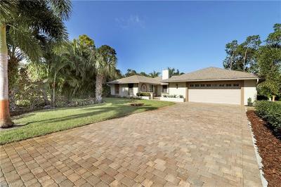 Naples FL Single Family Home For Sale: $525,000