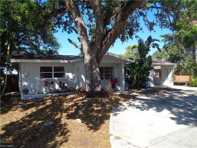 Fort Myers Single Family Home For Sale: 1924 Fountain St