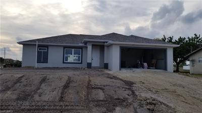 Cape Coral Single Family Home For Sale: 1802 NW 8th Pl