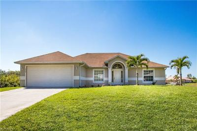 Cape Coral Single Family Home For Sale: 2454 NW 22nd Ter