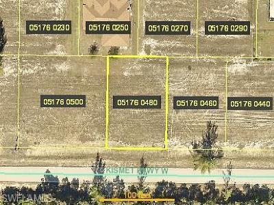 Cape Coral Residential Lots & Land For Sale: 4121 Kismet Pky W