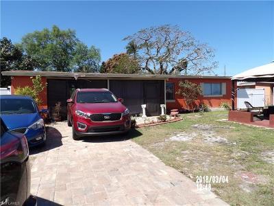 Fort Myers Single Family Home For Sale: 3044 Calvin Blvd