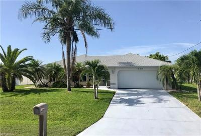 Cape Coral Single Family Home For Sale: 1316 SE 21st Ter