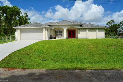 Lehigh Acres Single Family Home For Sale: 1509 Clark Ave