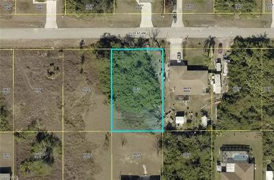 Lee County Residential Lots & Land For Sale: 2811 11th St SW