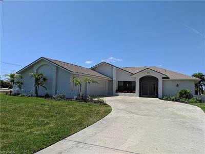 Cape Coral Single Family Home For Sale: 4206 SW 17th Ave