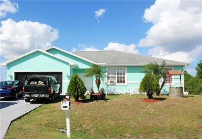 Lehigh Acres FL Single Family Home Pending With Contingencies: $158,000
