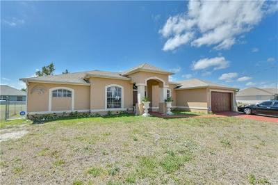 Cape Coral Single Family Home For Sale: 2224 NW 18th Ter