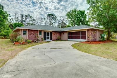 North Fort Myers Single Family Home For Sale: 17440 Williamsburg Dr