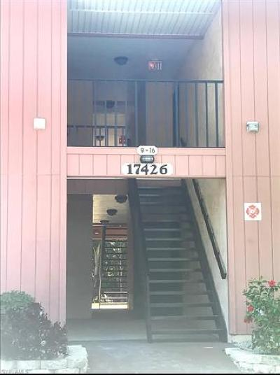 Fort Myers Condo/Townhouse For Sale: 17426 Birchwood Ln #15