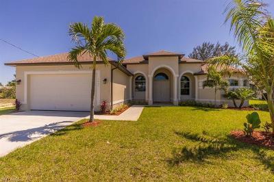 Cape Coral Single Family Home For Sale: 1437 SE 4th Pl