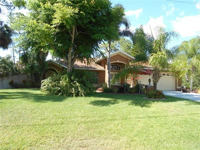 Fort Myers Single Family Home For Sale: 3840 Kittyhawk Dr