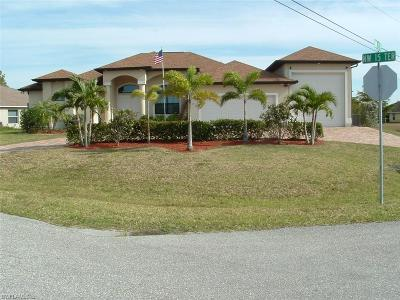 Cape Coral Single Family Home For Sale: 314 NW 15th Ter