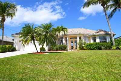 Cape Coral Single Family Home Pending With Contingencies: 5216 SW 18th Ave