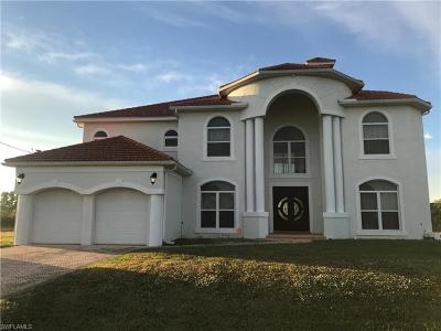 Cape Coral, Matlacha, North Fort Myers Single Family Home For Sale: 4110 NW 33rd Ln