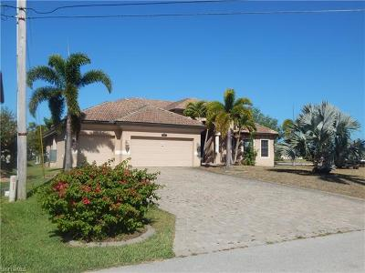 Cape Coral, Matlacha, North Fort Myers Single Family Home For Sale: 4108 SW 19th Pl