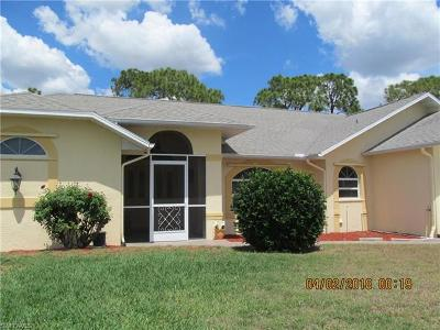 North Fort Myers Single Family Home For Sale: 6471 P G A Dr