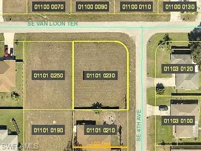 Cape Coral Residential Lots & Land For Sale: 318 SE Van Loon Ter