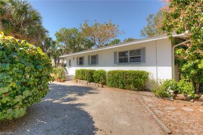 Sanibel Single Family Home For Sale: 1339 Tahiti Dr