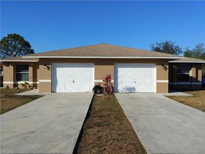 Lehigh Acres Multi Family Home For Sale: 4500 Leonard Blvd S