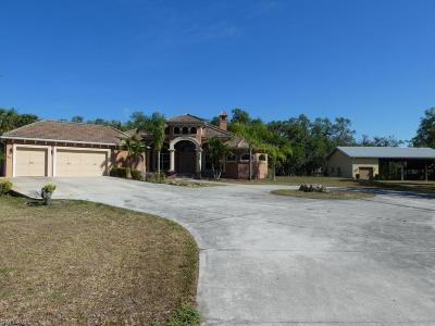 Alva FL Single Family Home Pending With Contingencies: $384,900