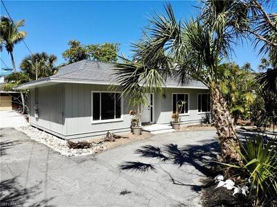 Captiva, Sanibel Single Family Home For Sale: 725 Nerita St