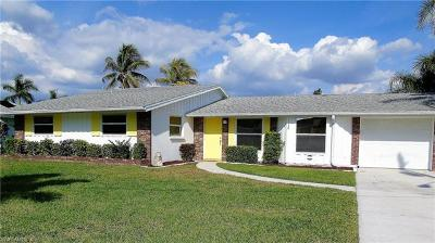 Cape Coral, Matlacha, North Fort Myers Single Family Home For Sale: 4436 N Gulf Cir