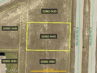 Cape Coral Residential Lots & Land For Sale: 3018 Nelson Rd N