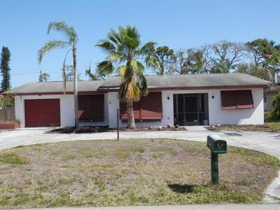 Fort Myers Single Family Home For Sale: 2249 Dover Ave