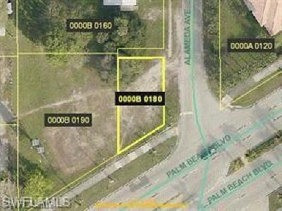 Fort Myers Commercial Lots & Land For Sale: 4851 Palm Beach Blvd