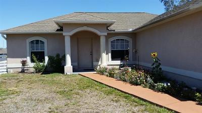 Lehigh Acres FL Single Family Home For Sale: $179,900