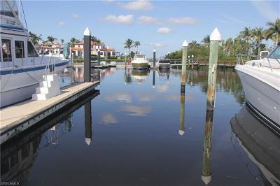 Fort Myers Boat Slip For Sale: Boat Dock B 14