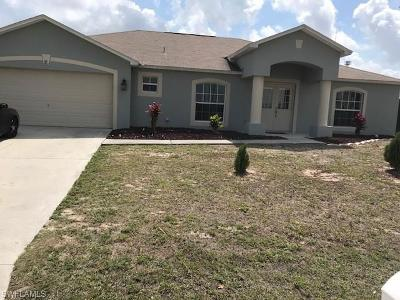Cape Coral FL Single Family Home For Sale: $269,500