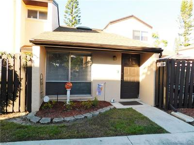 Fort Myers Condo/Townhouse For Sale: 1860 Crystal Dr #19