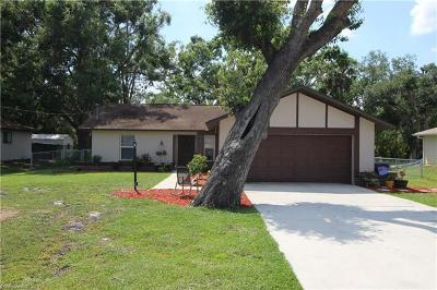 North Fort Myers Single Family Home For Sale: 17321 Tallulah Falls Rd