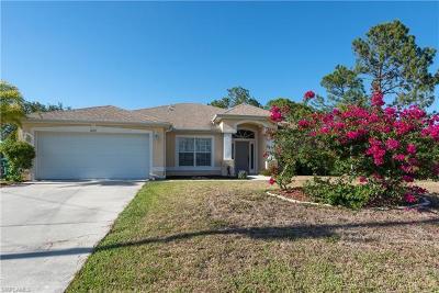 Cape Coral FL Single Family Home For Sale: $237,900