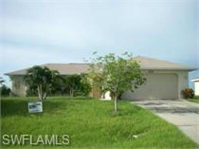 Cape Coral Single Family Home For Sale: 334 NE 23rd St