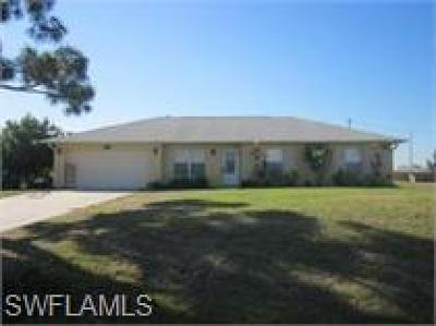 Cape Coral Single Family Home For Sale: 1510 NW 21st St