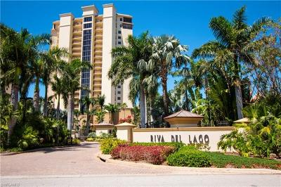 Fort Myers Condo/Townhouse Pending With Contingencies: 14300 Riva Del Lago Dr #PH31