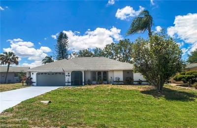 Cape Coral FL Single Family Home For Sale: $280,000