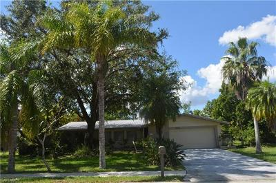 Cape Coral Single Family Home Pending With Contingencies: 4216 Palm Tree Blvd