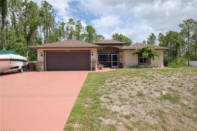 Lehigh Acres Single Family Home For Sale: 3200 19th St W