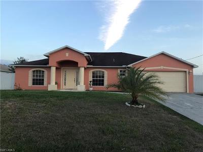 Lehigh Acres Single Family Home For Sale: 3413 19th St SW