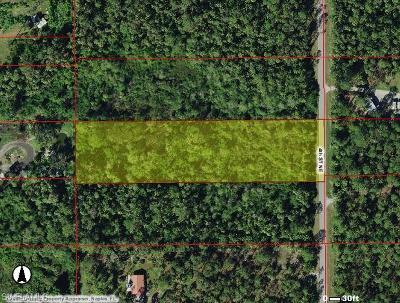 Naples Residential Lots & Land For Sale: 0000 4th St NE